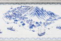 taipa island in macau painted on tiles - PhotoDune Item for Sale