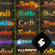 Epic Fantasy Game Style Text Effects - Bundle - GraphicRiver Item for Sale