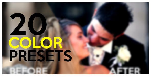 20 Color Presets