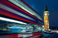 Big Ben and bus by night - PhotoDune Item for Sale