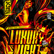 Flyer Luxury Night Konnekt - GraphicRiver Item for Sale