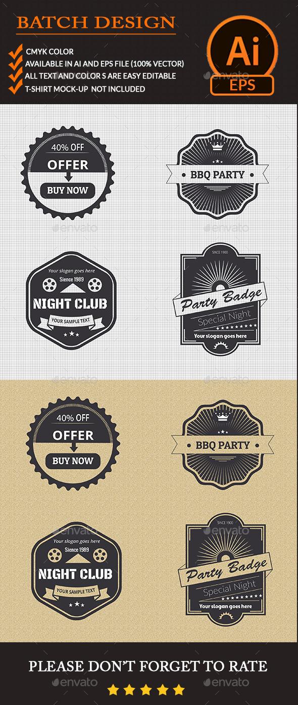 GraphicRiver Badge Design 11154229