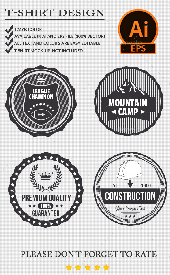 GraphicRiver Badge Design 11154246