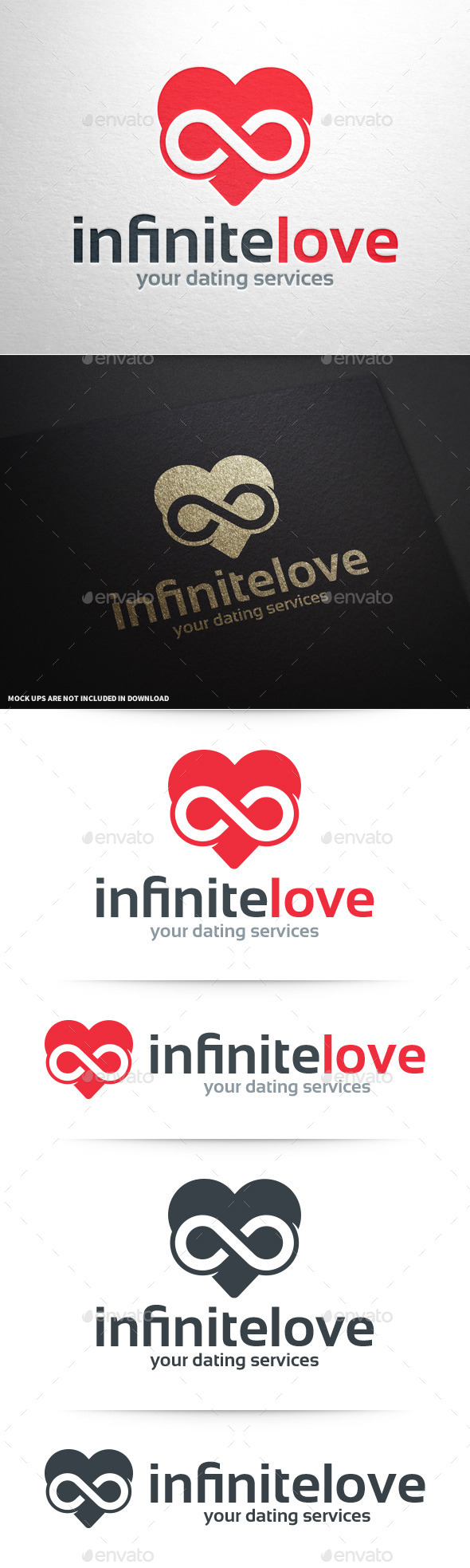 GraphicRiver Infinity Love Logo Template 11154382