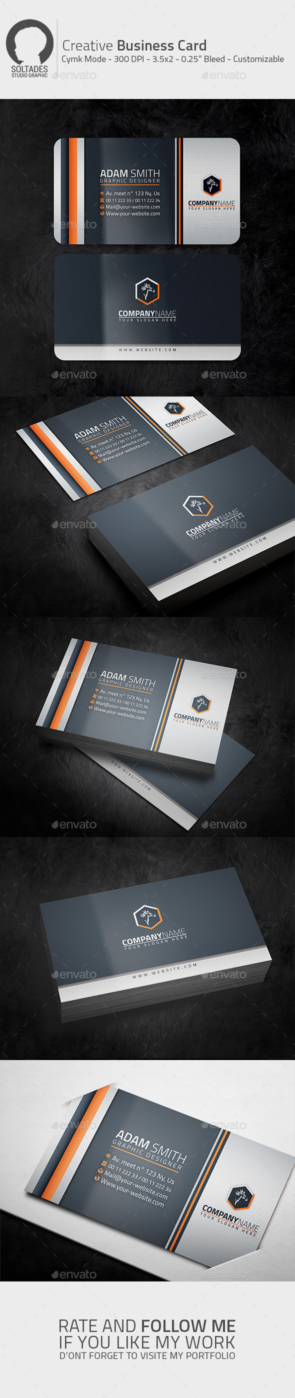 GraphicRiver Creative Business Card 11154836