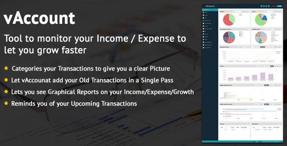 CodeCanyon vAccount Accounting Software 11089415