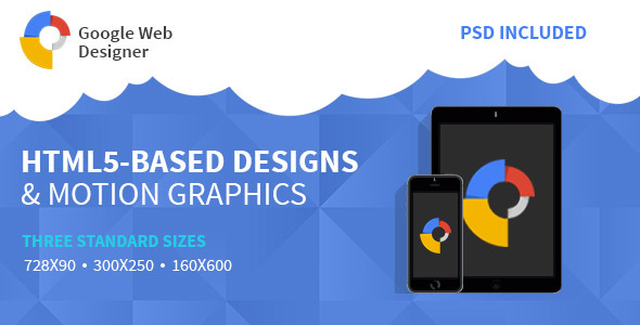 CodeCanyon Google Web Design HTML 5 Animated Banner Two 11155684