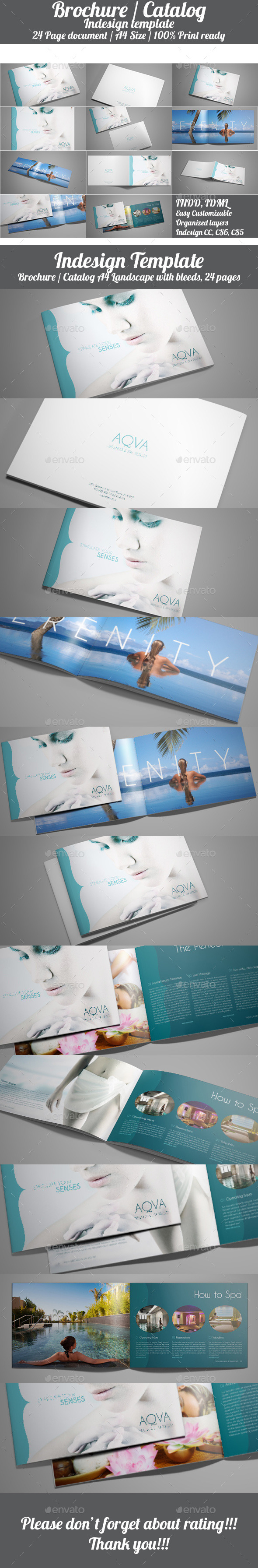 GraphicRiver Indesign Catalog Brochure Template 11155870