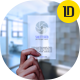 Frosted and Transparent Business Card Mock-Up - GraphicRiver Item for Sale