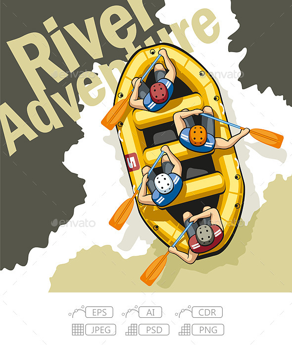 GraphicRiver River Adventure 11156386