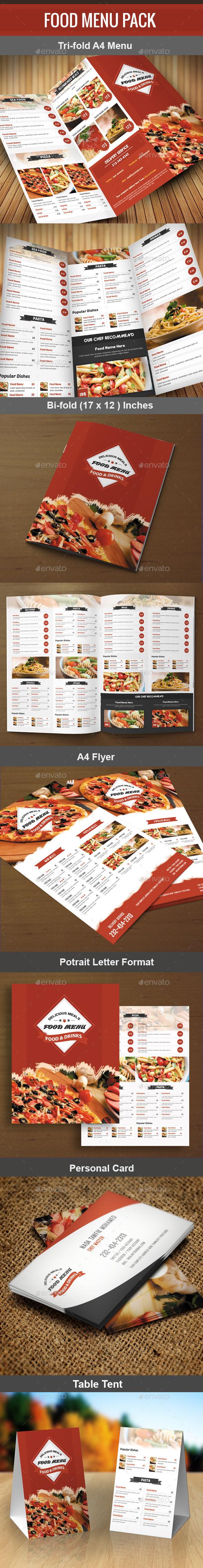 GraphicRiver Food Menu Pack 6 11156416