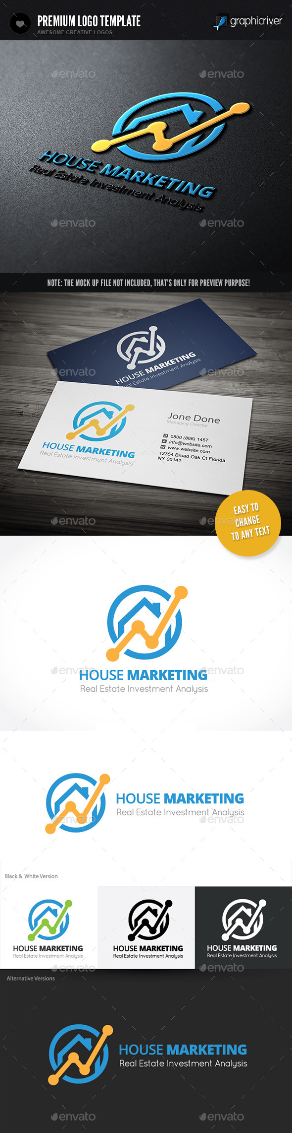 GraphicRiver House Marketing 11156650