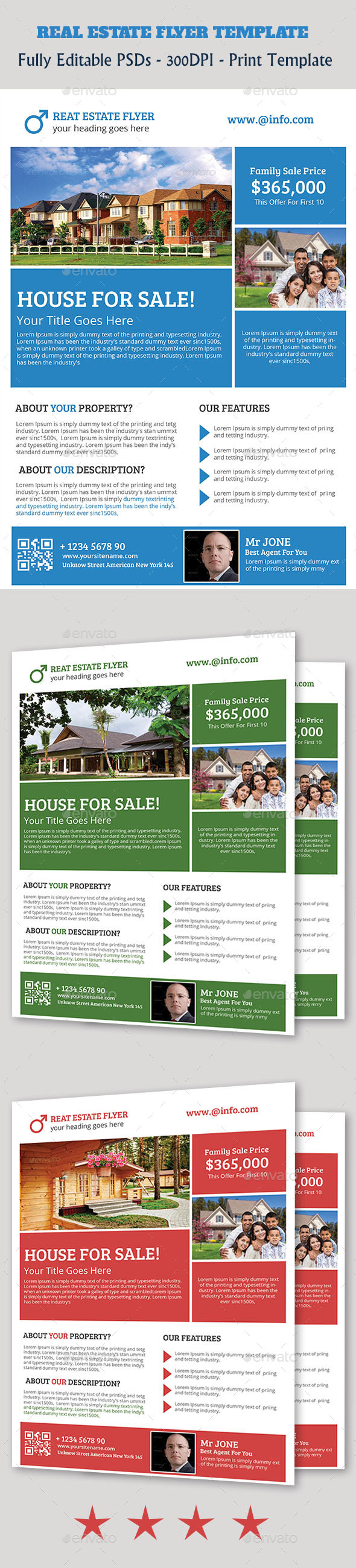GraphicRiver Real Estate Flyer 11156772