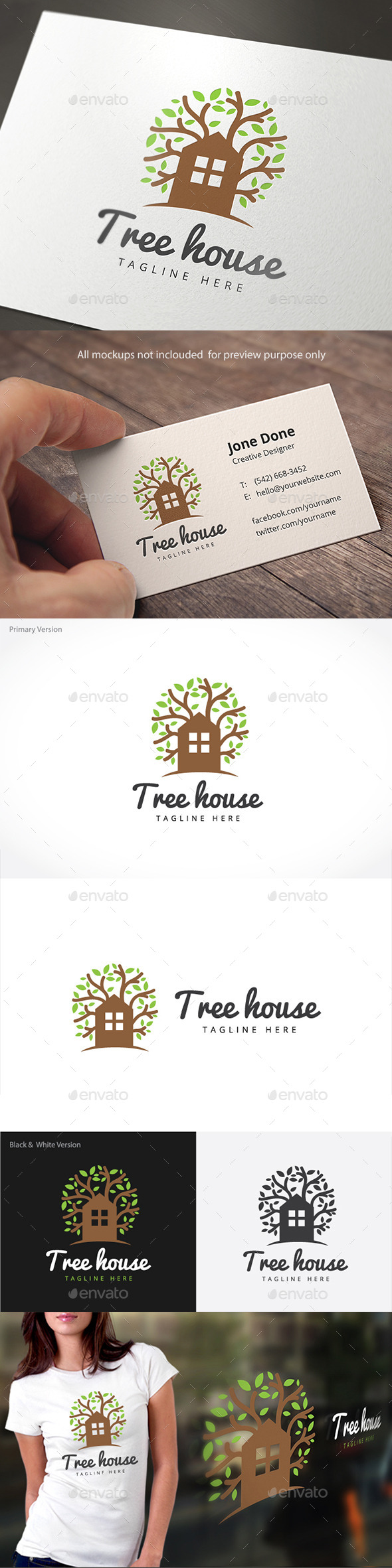 GraphicRiver Tree House 11156902