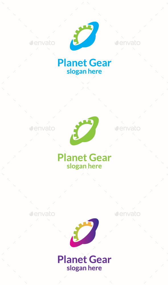 GraphicRiver Planet Gear 11156924
