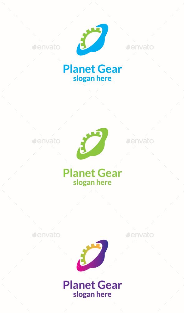 GraphicRiver Planet Gear 11156924