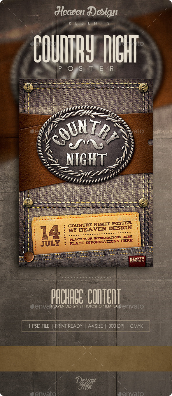 GraphicRiver Country Poster 11105417