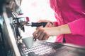 Waitress making coffee - PhotoDune Item for Sale