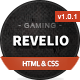 Revelio - The Gaming Template HTML - ThemeForest Item for Sale