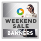 Weekend Sale Banners - GraphicRiver Item for Sale