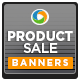 Product Sale Bnners - GraphicRiver Item for Sale