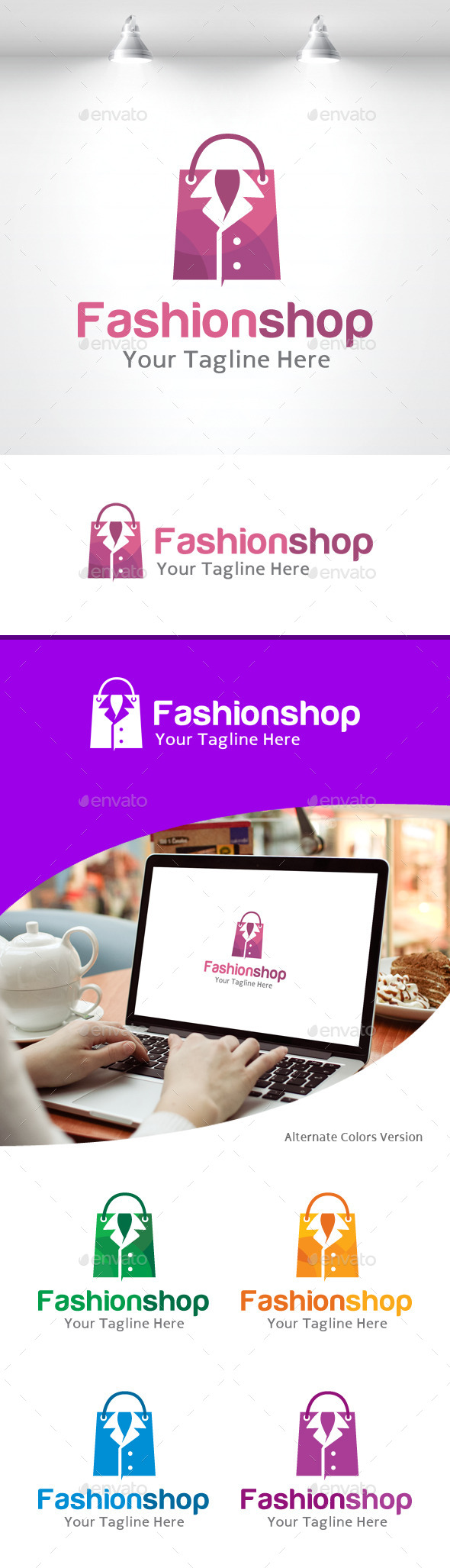 GraphicRiver Fashion Shop Logo 11157910