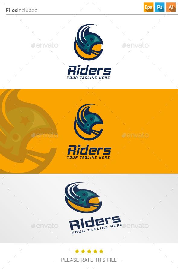 GraphicRiver Helmet Logo 11157985