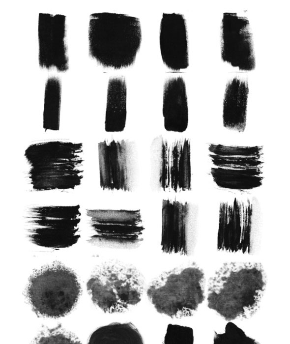 GraphicRiver 29 Ink Brushes for Traditional Chinese Painting 11051333