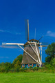 Windmill in Amsterdam, Holland, Netherlands - PhotoDune Item for Sale