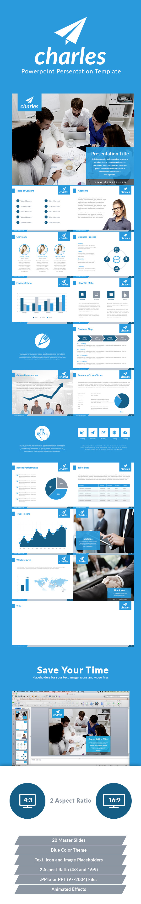 GraphicRiver Charles Powerpoint Presentation Template 11158493
