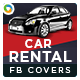 Car Rental Facebook Cover - GraphicRiver Item for Sale