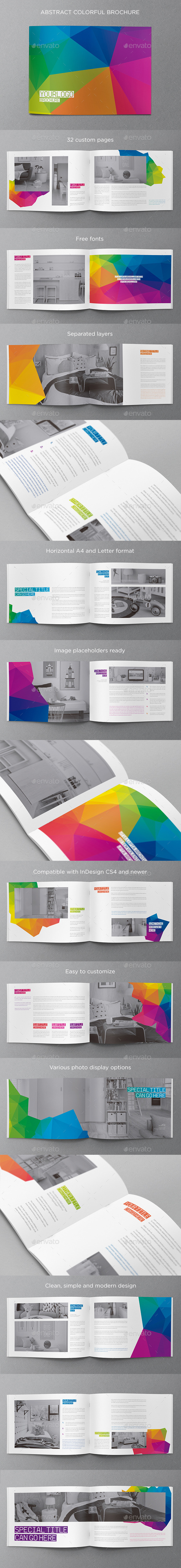 GraphicRiver Abstract Modern Brochure 11159106