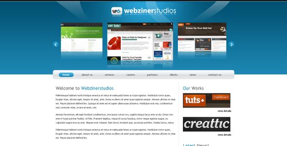 ThemeForest Webzinerstudios 45686