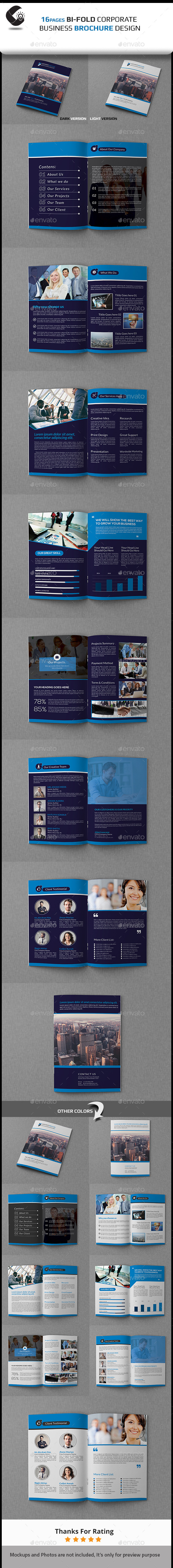 GraphicRiver Corporate Bi Fold Business Brochure 11159245
