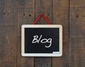 Blog sign. - PhotoDune Item for Sale