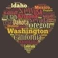 US states. - PhotoDune Item for Sale