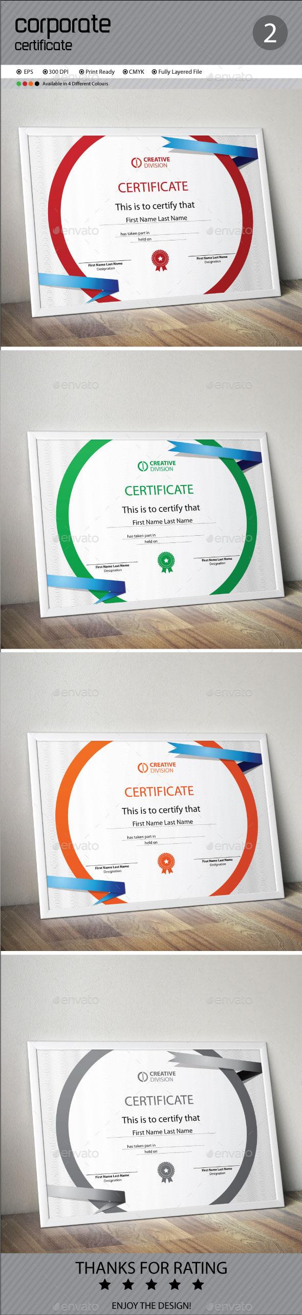 GraphicRiver Certificate 11159334