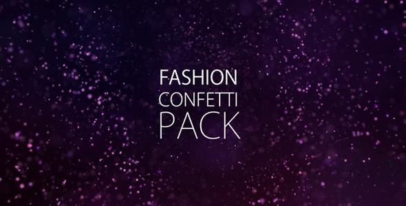 Fashion Confetti Pack