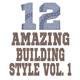 12 Amazing Building Style vol. 1 - GraphicRiver Item for Sale