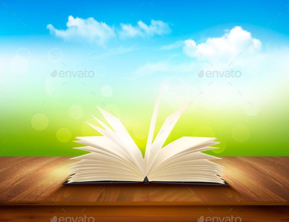 GraphicRiver Open Book 11162049