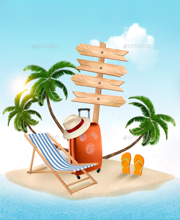 GraphicRiver Summer Vacation 11162145