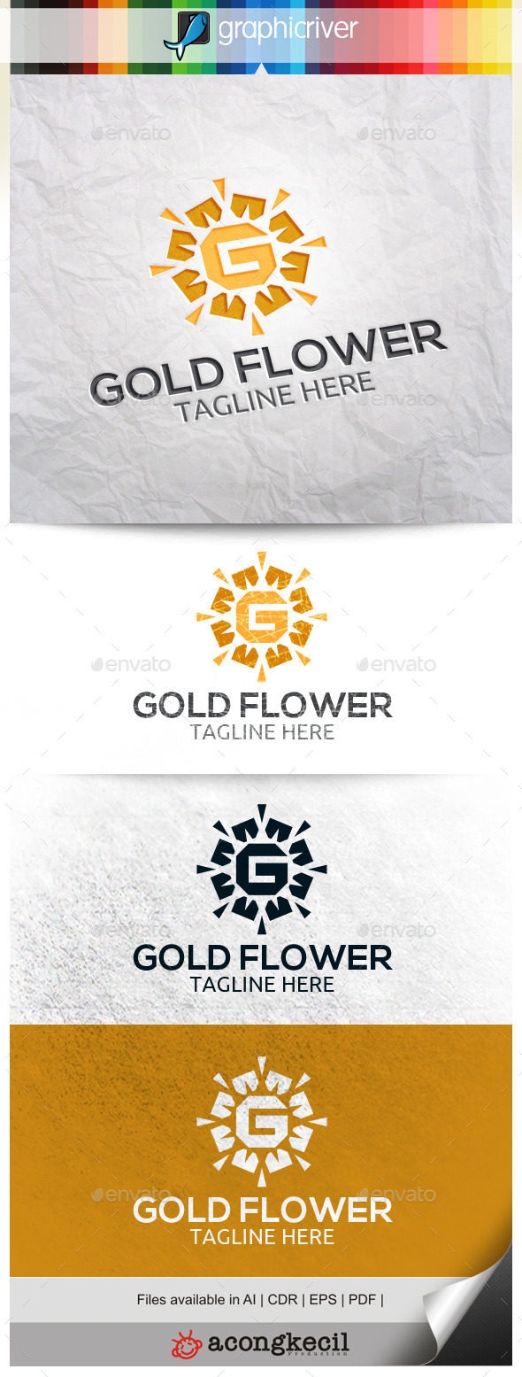 GraphicRiver Gold Flower V.3 11163446