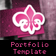 CreativePortfolio Fullscreen Template - ActiveDen Item for Sale