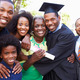 African American Student Celebrates Graduation - PhotoDune Item for Sale