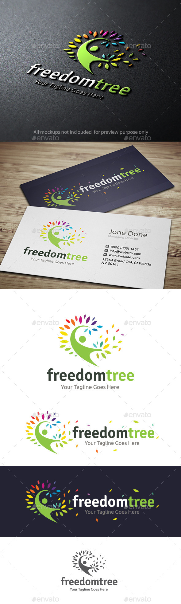 GraphicRiver Freedom Tree 11164378