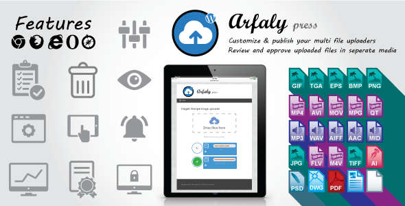 CodeCanyon Arfaly Press Premium digital information uploader and manager 11164660