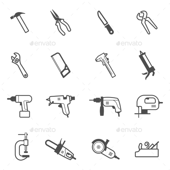 GraphicRiver Repair Tools 11164845