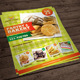 Bakery Flyer Template - GraphicRiver Item for Sale