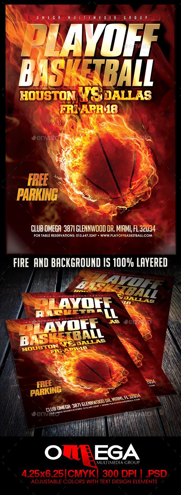 GraphicRiver Playoff Basketball 11165942