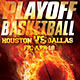 Playoff Basketball - GraphicRiver Item for Sale